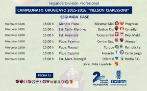 Fecha 11. Segunda División Profesional(1)