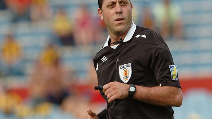 Fernando Falce: El árbitro del debut